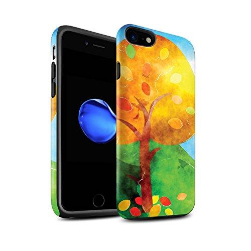 Stuff4 Telefoonhoesje/over/Skin/IP-3DTBM / Herfst Fashion Collectie Apple iPhone SE 2020 Aquarel Schilderij