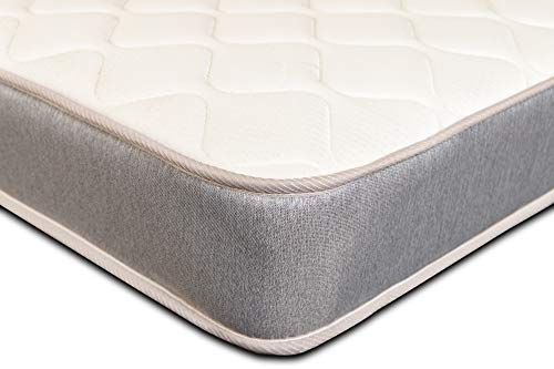 Extreme Comfort - Single Mattress. 3ft Single Memory Foam Mattress with Springs and a Memory Foam Layer (3ft x 6ft3, 90cm x 190cm)