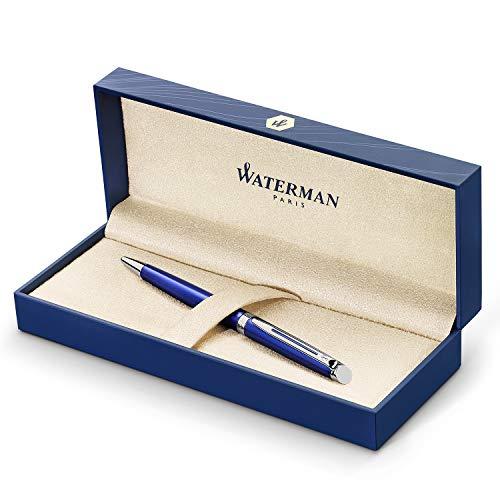 Waterman Hemisphere Ballpoint Pen Medium Point with Blue Ink Cartridge (2042968)