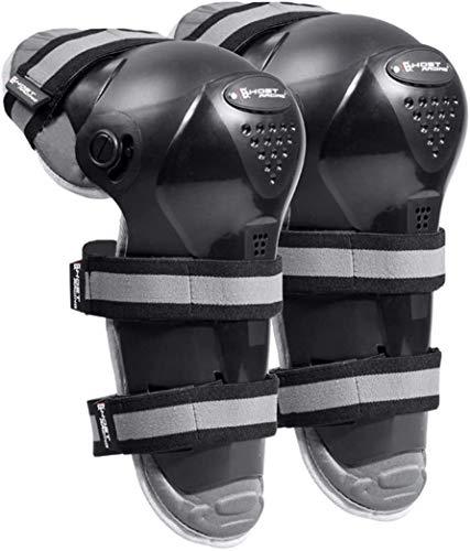 Yughb Rodilleras de suministro for el Trabajo - Superior Mixta y la rodilla Protección Dolor - Prima Gel y comodidad de la espuma del cojín - Put-Stay Heavy Duty correas de los muslos - resistente a l