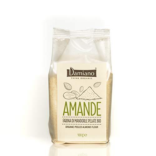 Farina di Mandorle Pelate Biologiche - Senza Glutine e Vegan Friendly - Sacchetto da 100g