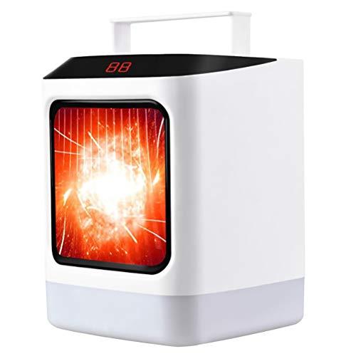 Wawogic Ventilador Calefactor portátil con Control Remoto, Ventilador Calefactor de Invierno cálido para la Oficina en casa