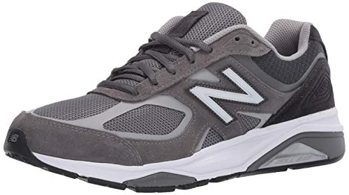 New Balance Men's 1540 V3 Running Shoe, Grey/Black, 11.5 Wide