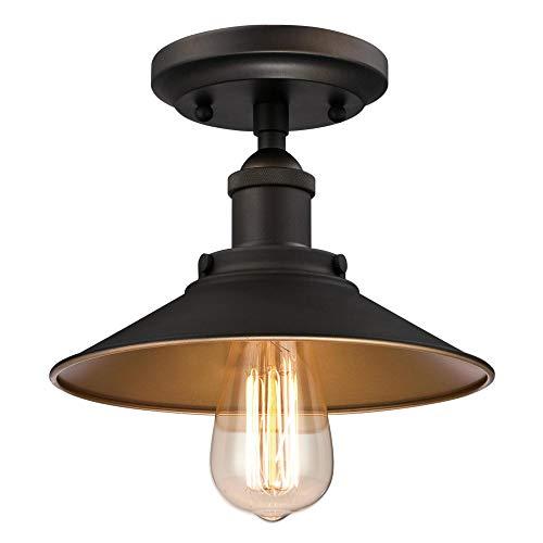 Westinghouse 6336000 Louis 1 Light 9u0022 Wide Semi-Flush Ceiling Fixture
