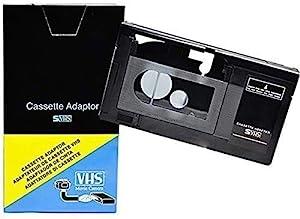 VCC113 Motorized VHS-C Cassette Adapter For JVC C-P7U CP6BKU C-P6UPanasonic PV-P1RCA VCA115 Model: Electronics & Accessories Store