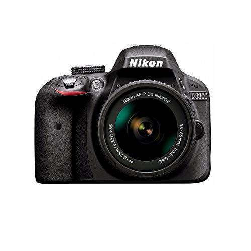Nikon D3300 - Cámara réflex de 24,2 Mp (pantalla LCD de 3', estabilizador óptico,...