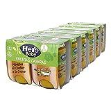 Hero Baby Recetas CaserasTarritos de Menestra de Cordero a la Crema - Para Bebés a Partir de los 6 Meses - 6 Packs de 2 x 190 gr
