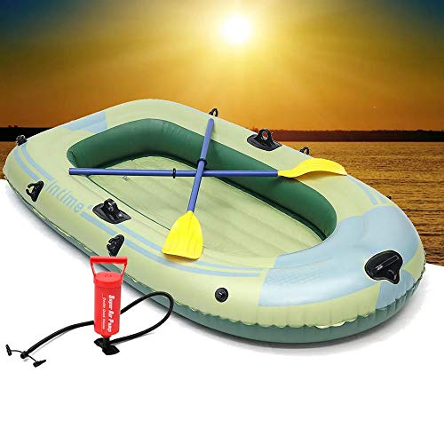 Fantastic Prices! Inflatable Boat Outdoor Sports 2/3/4 Person PVC Inflatable Boat Fishing Raft Dingh...