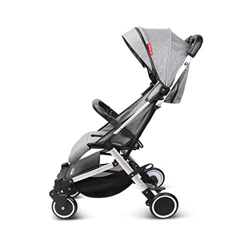 Review Queen Boutiques Aluminum Baby Stroller One Step Design for Lightweight Baby Stroller for Fold...