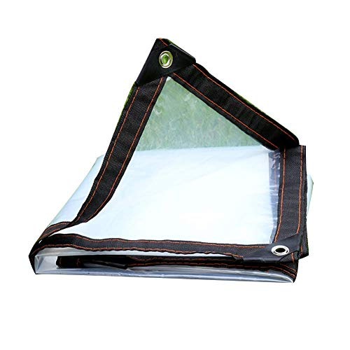 M-X-Y dekzeil helder dekzeil waterdichte multifunctionele kunststof doek voor camping buitenshuis, 120 g/l