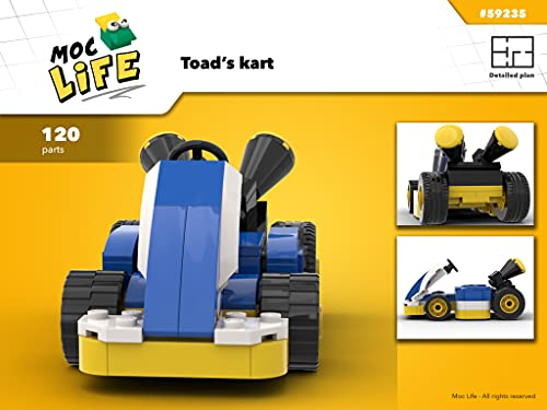 Toad kart (Instruction only): Moc Life (English Edition)