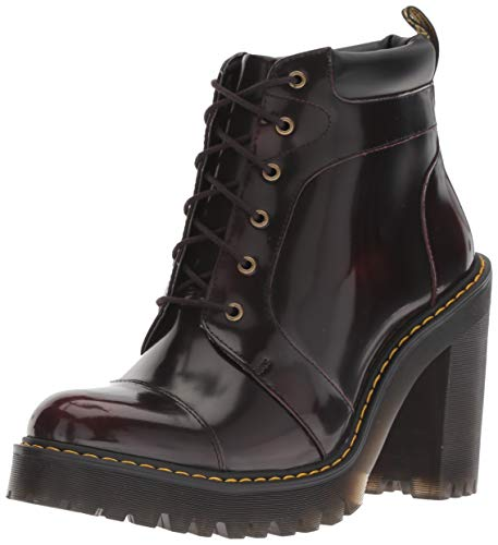 Dr. Martens Damen Averil Kurzschaft Stiefel, Rot (Cherry Red 600), 39 EU