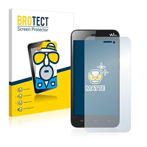 BROTECT 2X Entspiegelungs-Schutzfolie kompatibel mit Wiko Jimmy Bildschirmschutz-Folie Matt, Anti-Reflex, Anti-Fingerprint