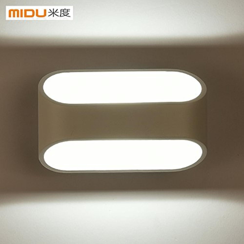 StiefelU LED Wandleuchte nach oben und unten Wandleuchten Wand lampe Nachttischlampe balkon Wall Art Schlafzimmer treppen Led Light, Medium,-5-WLED