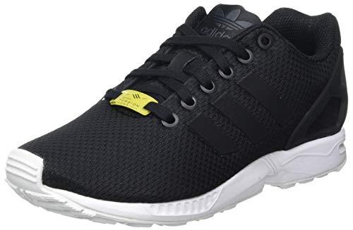 adidas ZX Flux, Unisex-Erwachsene Sneakers, Schwarz (Black/Black/White), 44 EU