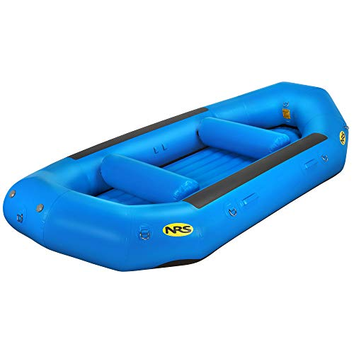 Discover Bargain NRS Otter 140 Self-Bailing Raft-Blue