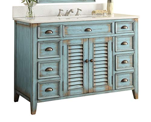 "46"" Cottage look Abbeville Bathroom Sink vanity Model CF28885BU"