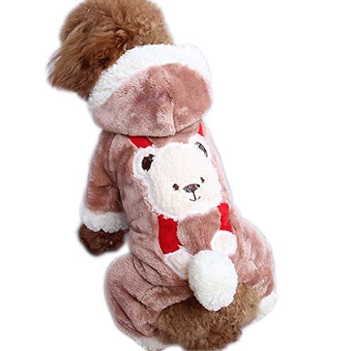 Huisdier kleding Delicate Puppy Hond Kleding Herfst en Winterjas Katoen Kleine Hond Dikke Trui Schoon