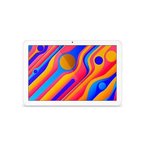 SPC Gravity Pro (2nd Gen) - Tablet de 10,1' HD IPS, hasta 12 Horas de autonomía, procesador a 2,0GHz de 12nm, 3GB de RAM, 32GB de Memoria ampliables, rápido WiFi 5, USB-C, Color Blanco