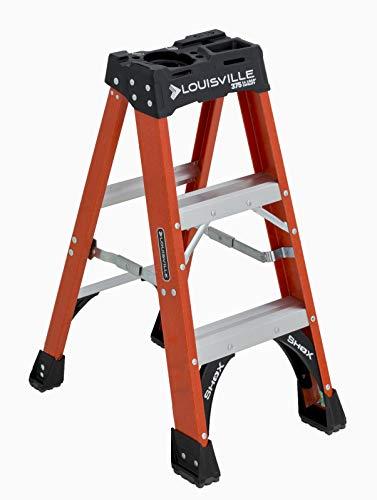 Louisville Ladder 3-Foot 375-Pound Capacity