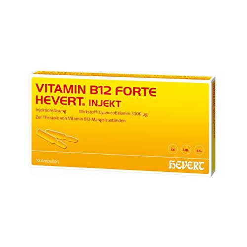 Vitamin B12 forte Hevert injekt Ampullen, 10 St. Ampullen
