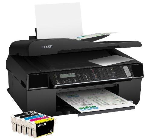 Epson Stylus BX320FW WiFi-Multifunktionsgerät (4 in 1, Drucker, Scanner, Kopierer, Fax)