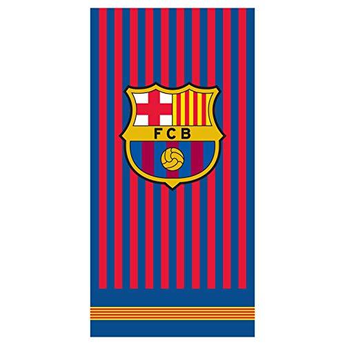 FCB FC Barcelona Strandtuch - Beach Towel - Serviette de Plage - Toalla de Playa - telo Mare FCB192025-R
