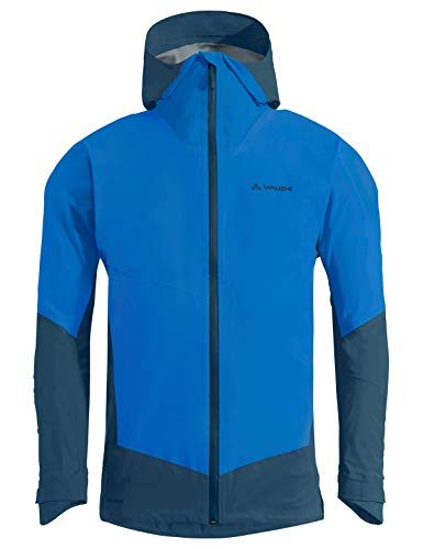 VAUDE Herren Jacke Men's Croz 3L III, Hardshelle zum Bergsteigen, radiate blue, 52, 414139465400