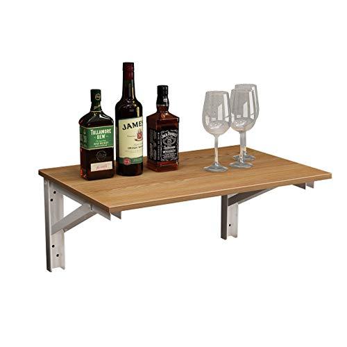 SogesHome AC15BW-12050 - Mesa plegable de pared para cocina (90 x 50...