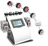 40K Máquina de Belleza Profesional Ultrasonidos Radiofrecuencia, Masajeador Cavitacion Corporal Celulitis, Aparatos De Anticelulítica Salon Cuidado de Piel Facial (01)