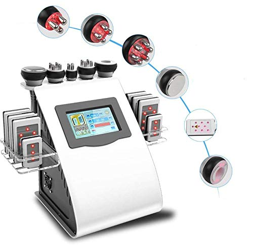 Ultrasuoni Viso Antirughe Macchina di Bellezza RF 40K, Radiofrequenza Viso Massaggiatore Anticellulite...