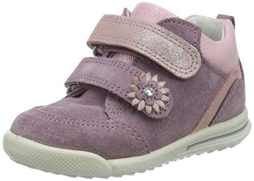 Superfit Mädchen Avrile Mini Sneaker, Violett (Lila/Rosa 90), 22 EU