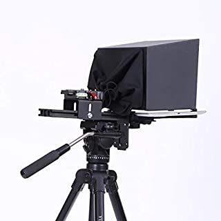 Photo Studio Accessories - Teleprompter 10'' 10 inch for for iPad Tablet for Youtube Video Interview Speech For DSLR Camer...