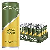 Organics by Red Bull Viva Mate, 24 x 250 ml, Dosen Bio Getränke 24er Palette, OHNE PFAND