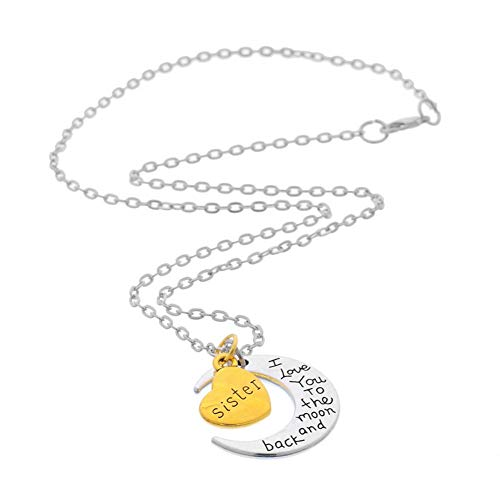 brother sister necklace - 8