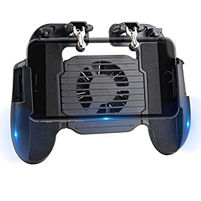 AZFUNN Mobile Game Controller with Charger Cool...