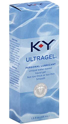 K-Y KY Ultragel Personal Lube Lubricant 1.5 oz (44 ml) by K-Y