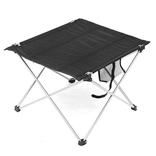 Goodbox Klapptisch Campingtisch Faltbar, Gartentisch mit Tasche, klappbar Tisch für Camping Outdoor (Mittel 57 x 42cm)