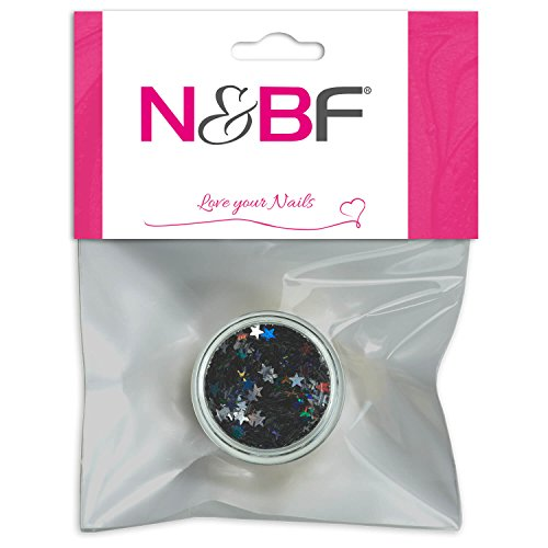 Nail Art étoiles Black de pour Full Cover Model couches & individuelle Nail Art Design Motif
