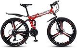 YIHGJJYP Bicicleta De Montaña 26' 27 Velocidad Bicicletas para el Bastidor suspensión Adultos Ligera Completa Tenedor del Freno Disco,Set-19