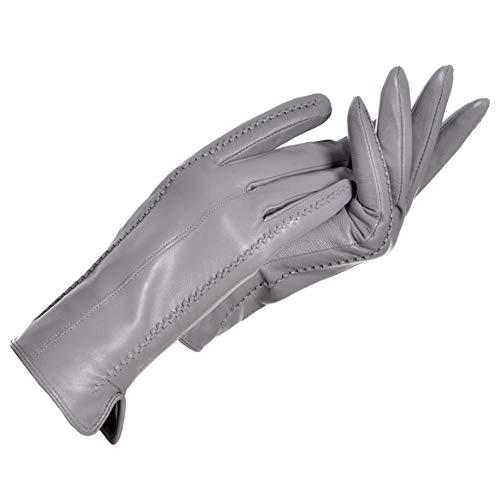 Winterhandschoenen dames leren handschoenen leer zwart plus fluwelen autohandschoenen wanten