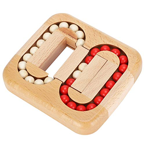 Holzball Labyrinth Spielzeug, Planar Ball Holzspielzeug Erwachsene Kinder Wissenschaft Bildung Labyrinth Spiel Puzzle Flacher Zauberwürfel Schalte Puzzles frei