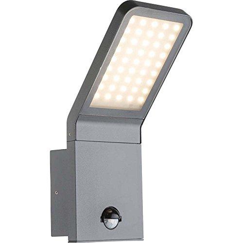 Indrukwekkende 9 W LED buitenmuur lamp aluminium glas IP44 Globo LISSY III 34302S