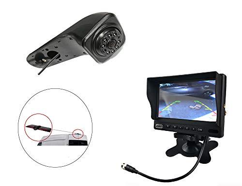 Vision de Nuit la Vue arrière imperméables IR Renforts troisième Frein lumière caméra pour 2017 VW Crafter Van + 7 Pouces HD inverser rétroviseur surveiller