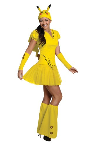 Rubie's Women's Pokemon Pikachu Costume, Medium