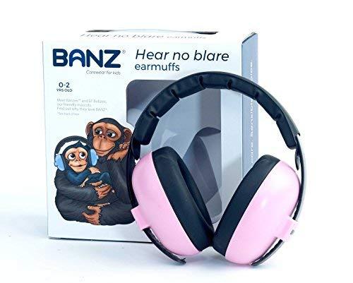 Banz Bubzee Baby Ohrenschützer, Rosa