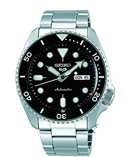 Seiko Men's Analogue Automatic Watch with Stainless Steel Strap SRPD55K1 (B07WGML3VN) | Amazon price tracker / tracking, Amazon price history charts, Amazon price watches, Amazon price drop alerts