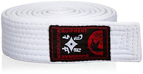 Budodrake Karategürtel Judogürtel Taekwondogürtel weiß (260)