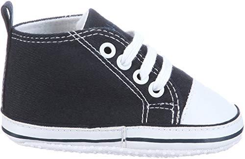 Playshoes Primeros Zapatos, Zapatillas Casual Unisex bebé, Azul (Marine 11), 18 EU