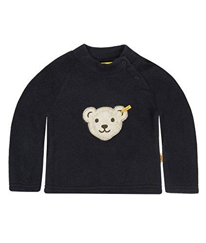 Steiff Steiff Unisex Baby Sweatshirt 0006878 Sweatshirt 1/1 Sleeves, Blau - Bleu - Blue (Steiff Marine), 5 Jahre (Herstellergröße:110)